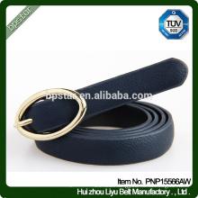 Black PU Women Belt Thin for Lady Female Dress Jeans Fashion Cintos Ceinture Straps Wholesale Factory