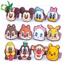 Populaire siliconen ring Cartoon Mickeys Minnies leuke ringen