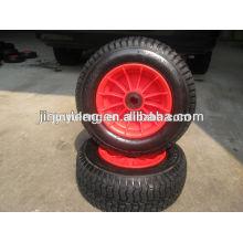 10 inches 16inches 6.50-8 4.10/3.50-4 rubber wheel, pneumatic wheel use for Lawn mower, wheel barrow ,lawn car