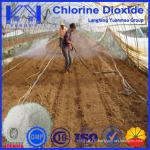 Dioxyde de chlore pour l'agriculture