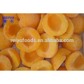 frozen product yellow peach dices 15*15mm