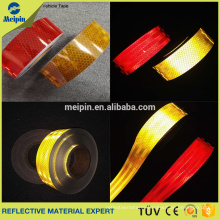 High Visibility Silver Red Yellow ECE104 Standard Reflective Tape for Vehicle