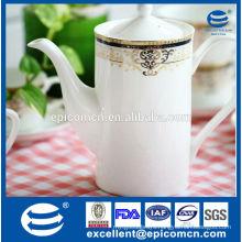 high quality cheap ceramic kettle, porcelain tea pot wholesale