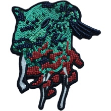Micro stamp on fashion cloth