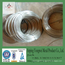 Low price bright soft galvanized Wire