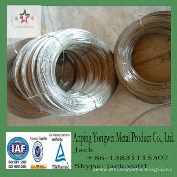 Low price bright soft galvanized Wire