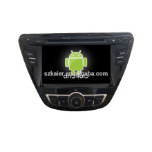 Quad-Core! Auto-DVD mit Spiegellink / DVR / TPMS / OBD2 für 7-Zoll-Touchscreen-Quad-Core 4.4 Android-System Hyundai Elantra 2014