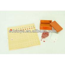 Montessori Materials Bead Board en Chine