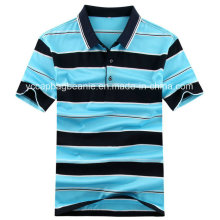 100% hochwertiges gekämmtes Baumwollmänner Polohemd, Polohemd der Männer