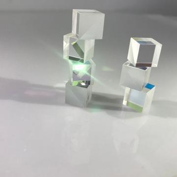 K9 Glass Transparent 5: 5 Beamsplitter Mini Dichroic Prisma