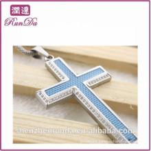 2014 wholesale alibaba stone cross pendants