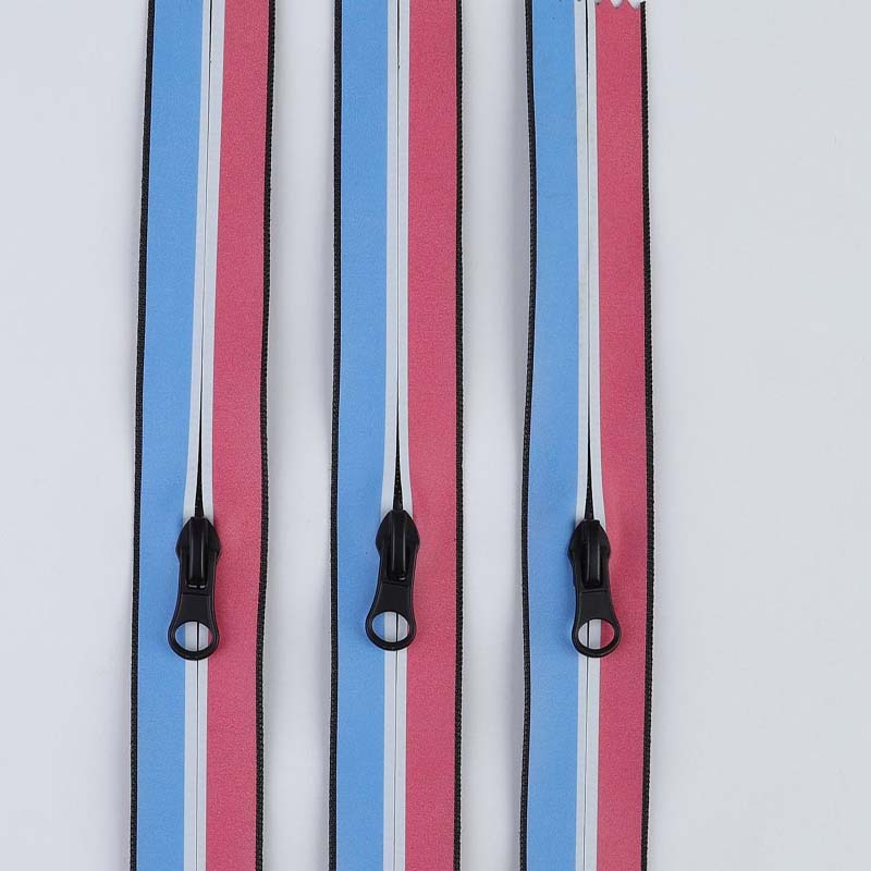 Best seller Stripe edge tight zipper for tent
