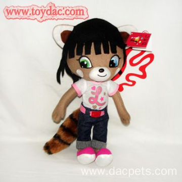 plush cartoon animal doll