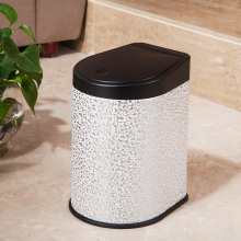 White Cloud Design Press Garbage Bin (H-3LE)
