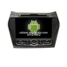 GPS de lecteur de dvd de voiture d'Android 4.4 de 8 pouces pour Hyundai IX45 avec le gps de voiture de lien-miroir