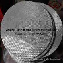 China Fabricación inoxidable filtro / filtro rebanada / malla de alambre (fábrica real)