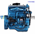 6 Cylinder, 375kw, Shanghai Dongfeng Diesel Engine for Generator Set