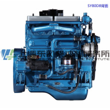 6 Cylinder, 375kw, Shanghai Dongfeng Diesel Engine for Generator Set,