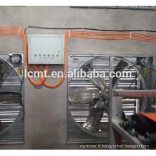 ventilateurs automatiques de ventilation de ferme de volaille pour le contrôle d'environnement