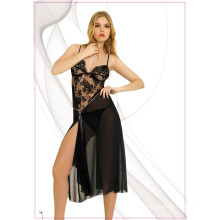 Special Hot Sexy Long Black Nightdress