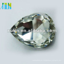 prata esterlina volta foiled lágrima gota diamante SWW040