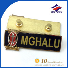 Great quality metal name badge factory direct sell price