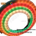 Tira de LED Digital flexível de leitoso de 360 graus