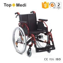 Topmedi Twa251lhpq Hot Selll Aluminium Faltbarer Schöner entworfener Mittlerer Osten Rollstuhl