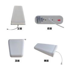 Alta calidad 12dBi Sistema de distribución al aire libre Direccional Log-periodic 4G Antena para receptor de señal de teléfono móvil