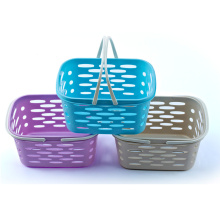 Plastic High-End Hollow Basket with Handle