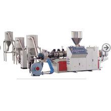 Máquinas de granulação compósitas plásticas de madeira