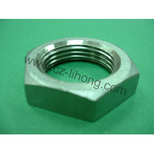 """3/4"""" Stainless Steel 316 Pipe Fitting Hex Nut"""