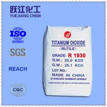 Qualidade superior rutilo titânio dióxido R1930 para borracha