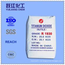 Chlorid-Prozess Titandioxid entspricht R902