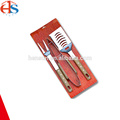 3PCS BBQ Utensils Tool Kit mit Krawattenkarte