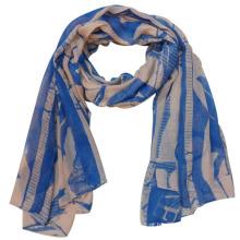 Lady Moda Impresso Poliéster Voile lenço de seda (YKY4220)