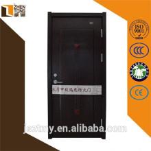Powder coating / heat transfer fire exit door,steel wooden armored door,wooden fire resistant door