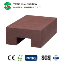 Waterproof WPC Wood Plastic Composite Raling for Outdoor