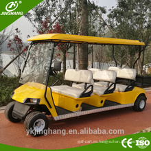 Potencia de gas de venta directa de fábrica 6-10 asientos de carrito de golf