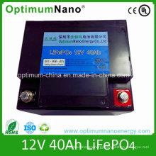 12V 40ah High Energy Lithium Battery for Wheelchair