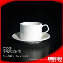 ventas stock moda diseño línea aérea uso porcelana taza y platillo