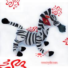 Plush Zebra and Plush Horse Toy
