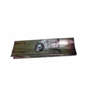 saco de café de Pokka de plástico de reforço lateral com válvula