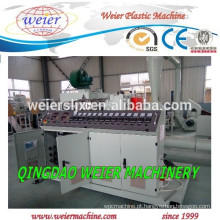 Venda quente da maquinaria plástica de extrusora de parafuso único plástico