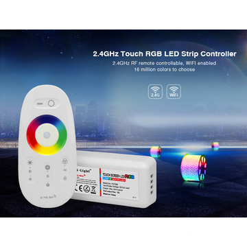 2.4G Touch Screen RGBW LED control system