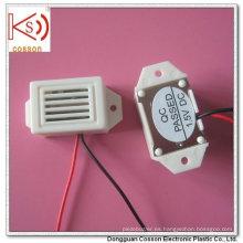 400kHz 500kHz 3V 6V 9V con los alambres Blanco Mecánico Buzzer
