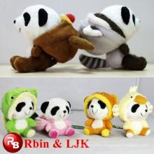 big eyes animal panda plush toys