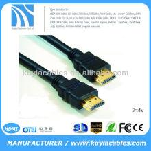Hdmi câble mâle à femelle 1,5 m transmet des données jusqu'à 10,2 Go / s produisant des affichages brillants sur votre téléviseur