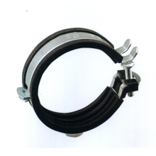 a17 3 15 braçadeira de tubo personalizado zincado braçadeira de tubo braçadeira de mangueira de borracha