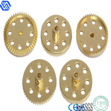 Special OEM Custom Copper CNC Special Spare Parts with Hole
